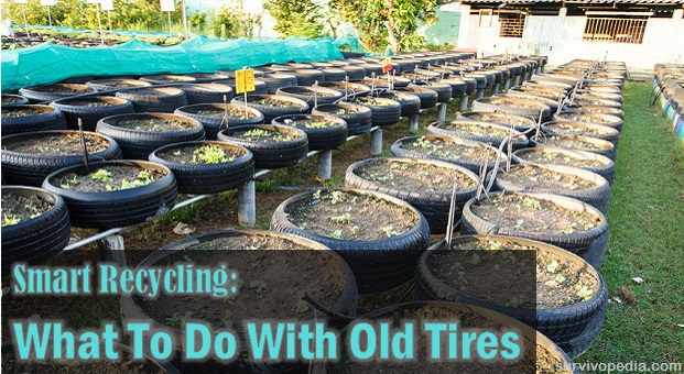 smart recycling what to do with old tires the prepper dome