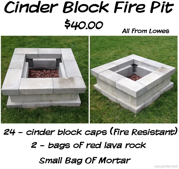 Cinder-BLock-Fire-Pit