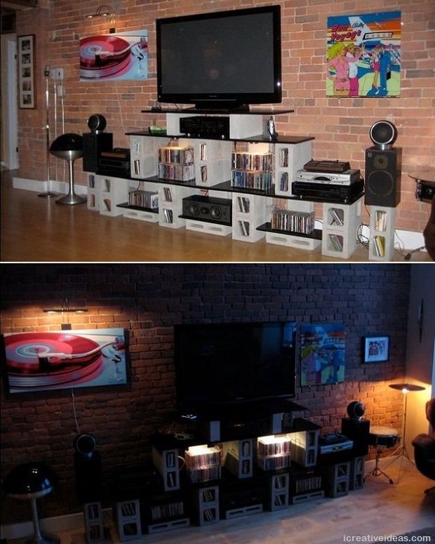 Cinder-Block-Entertainment-Center