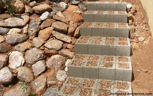Cinder-Block-Stairs