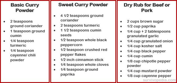 Curry-Seasoning