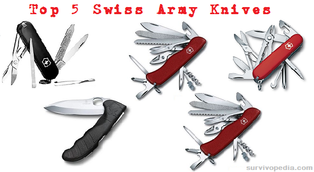 Top 5 Swiss Army Knives For Survival The Prepper Dome