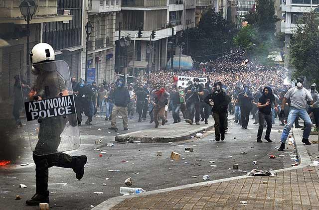 GreekRiots