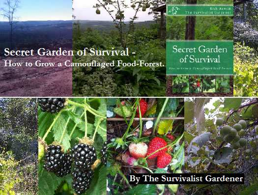 Secret garden of survival the prepper dome for Survival garden