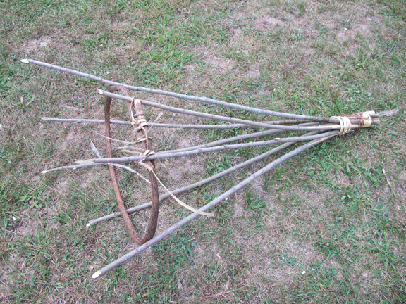 How to make a primitive funnel fish trap that keeps on for How to make a fish trap for big fish