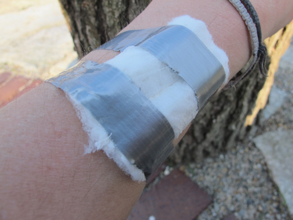 tampon-bandage