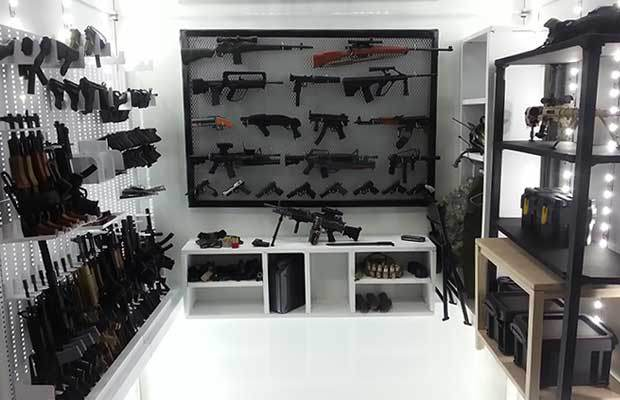 Man Cave Prepper Stash : The best prepper guns list must have weapons for shtf