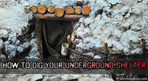 How To Dig Your Underground Shelter The Prepper Dome