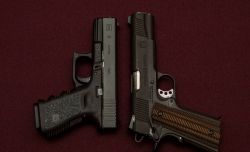 1911_vs_Glock_Best_Survival_Pistol