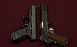 1911_vs_Glock_Best_Survival_Pistol