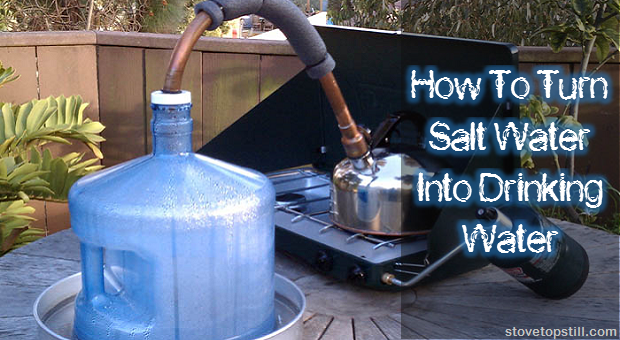 How To Turn Salt Water Into Drinking Water The Prepper Dome