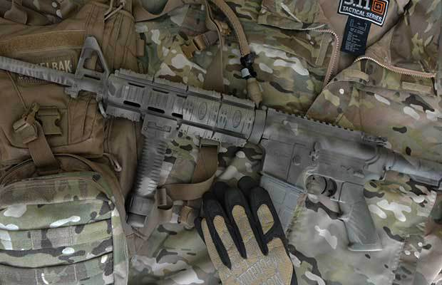 How To Camo Paint Your Ar15 The Prepper Dome