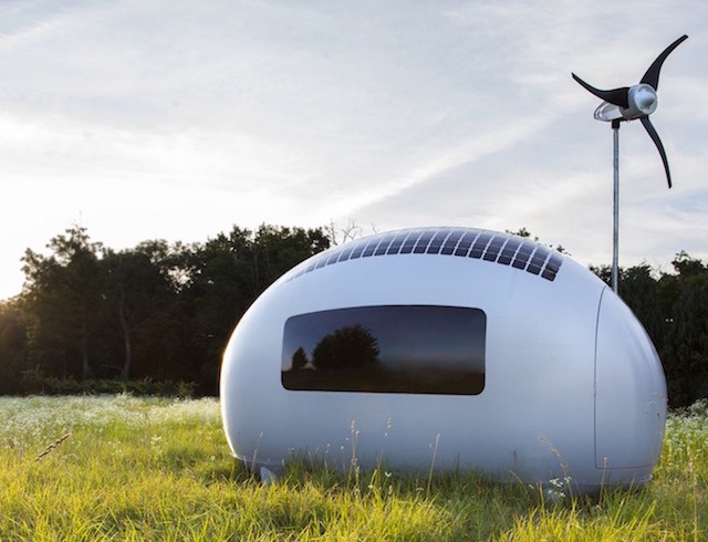 Solar Powered Pod Lets You Live Off Grid Anywhere The