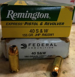SHTFblog_survival_cache_40_SW_smith_and_wesson_best_pistol_caliber_federal_HST_hollowpoint_remington