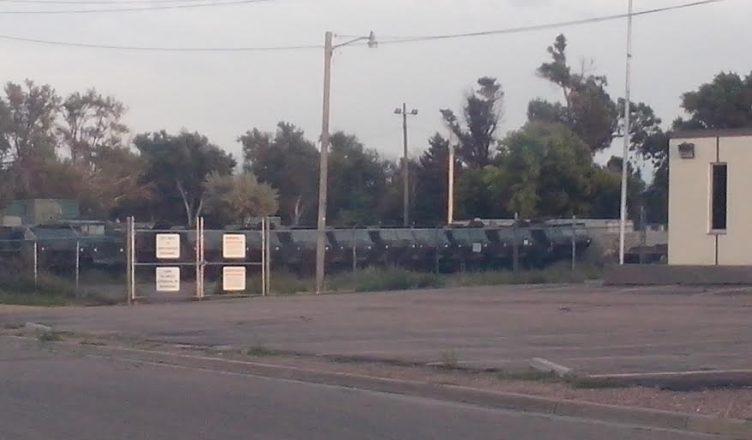 lajunta-old-walmart-housing-militayry-vehicles