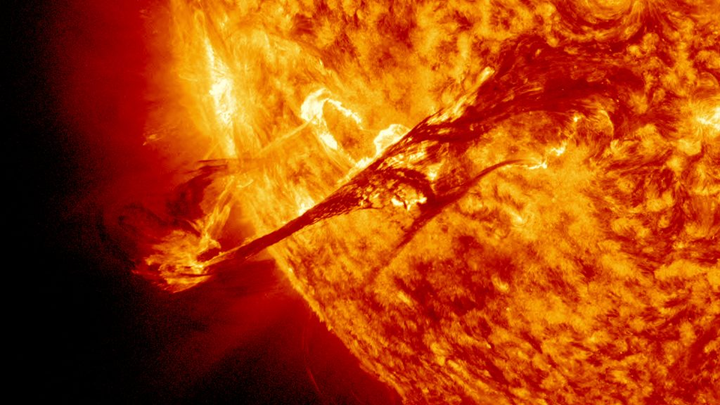 Breaking Coronal Mass Ejection Is Set To Hit On Election
